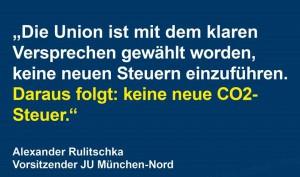 CDU CO2Steuern